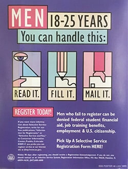 draft registration poster
